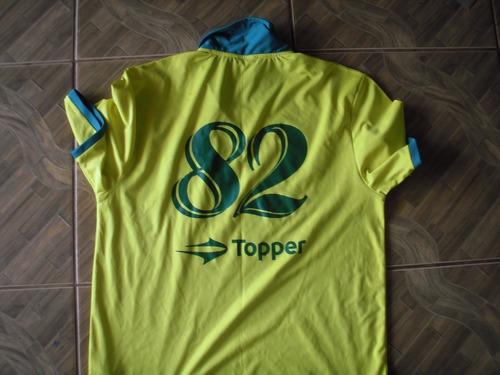 camisa do brasil comemorativa copa de 82 topper