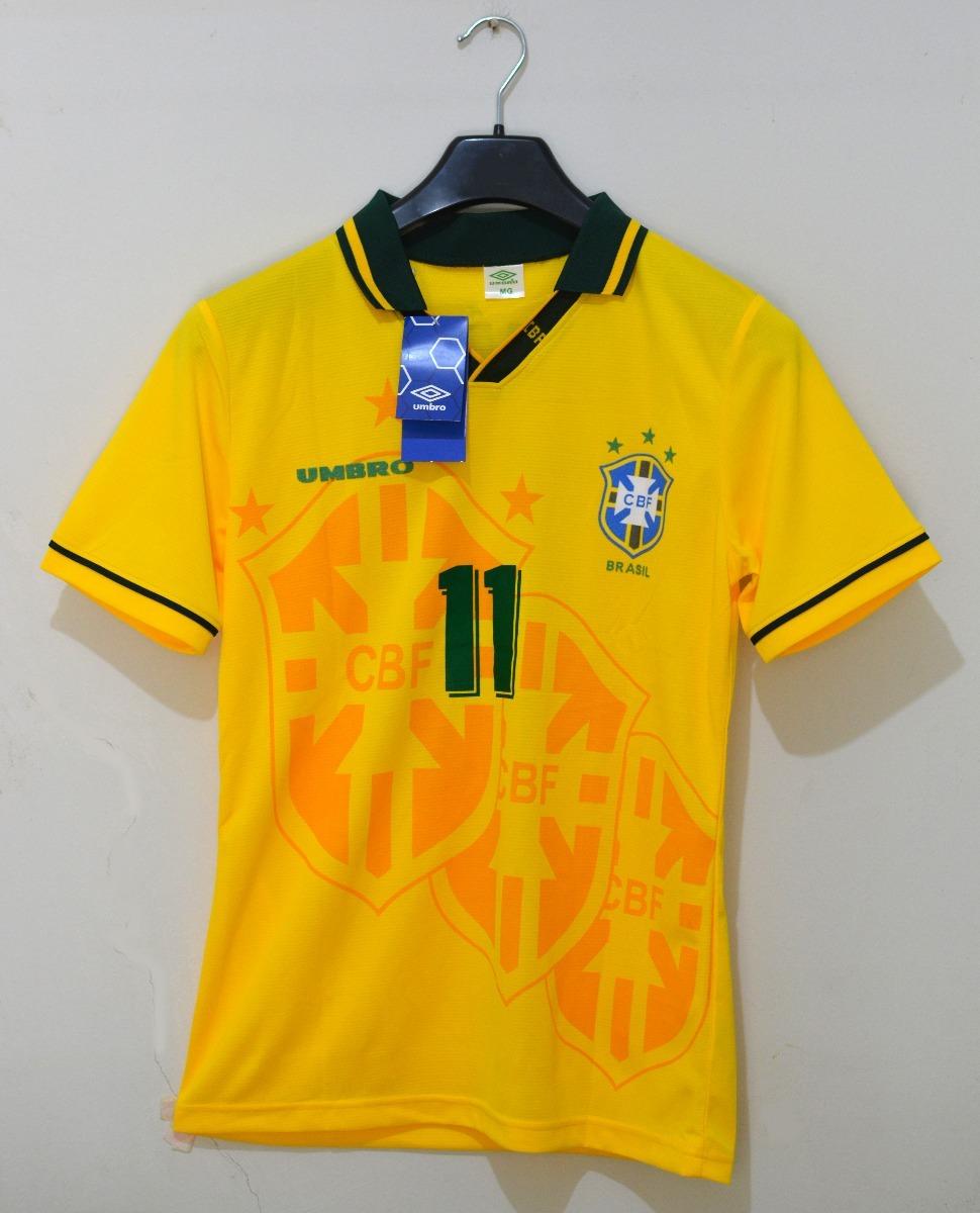 9ab7a8177e Camisa Do Brasil Copa 1994 - Romário 11 Frete Grátis - R$ 130,00 em ...