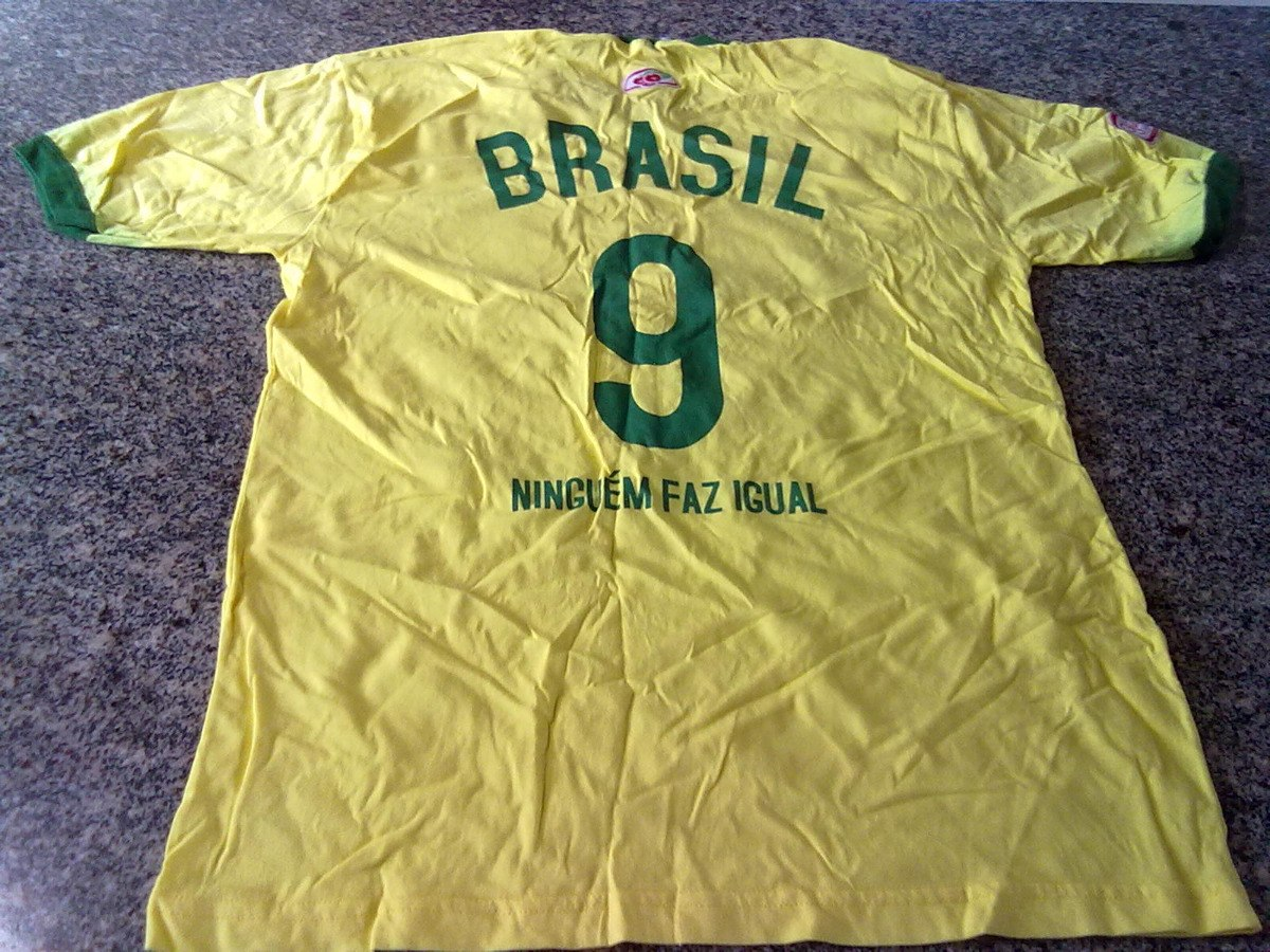 06ab15b373 camisa do brasil copa do mundo promoção guaraná antarctica. Carregando zoom.