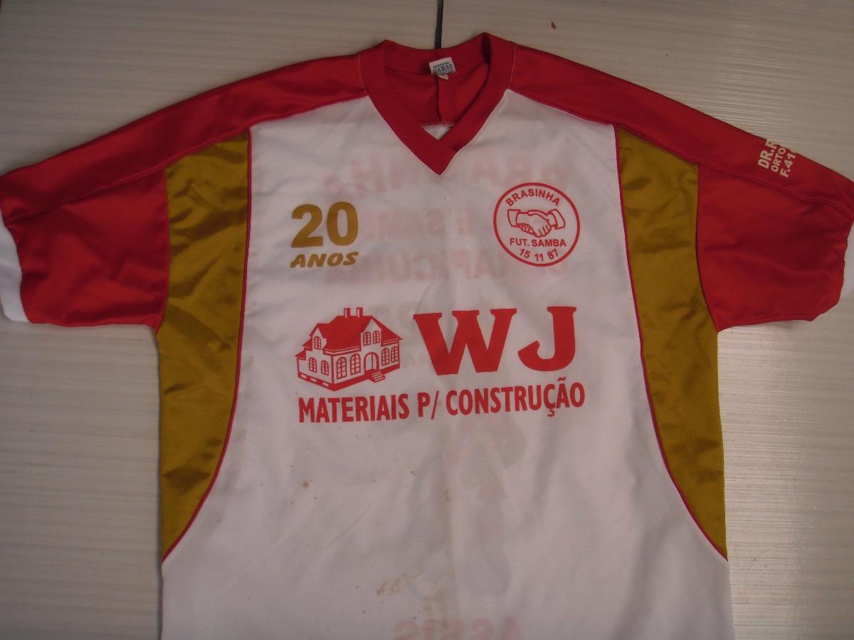 Camisa Do Brasinha De Carapicuiba - R  25 c307cad300f85