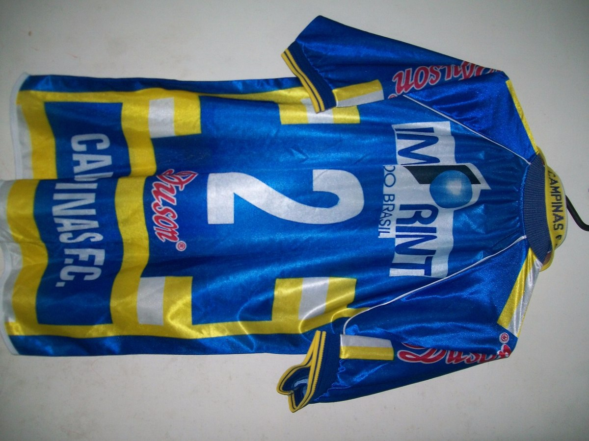 96f1b0a0d camisa do campinas fc duson original tamanho g. Carregando zoom.