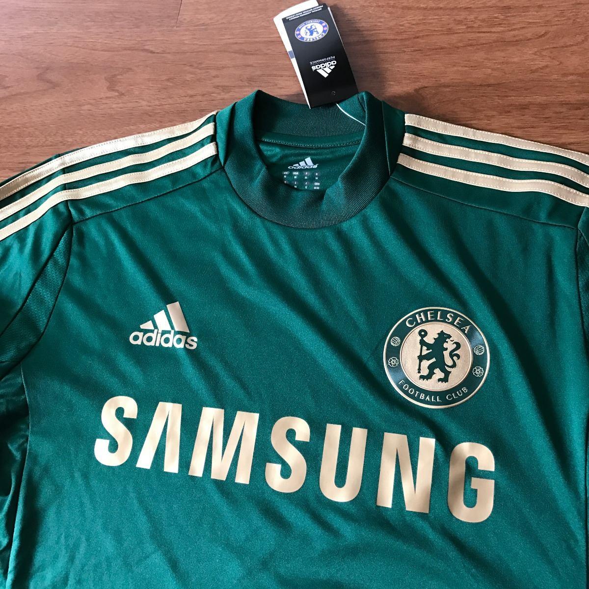 camisa do chelsea adidas goleiro verde antiga nova etiqueta. Carregando zoom . b20c6e64d9851