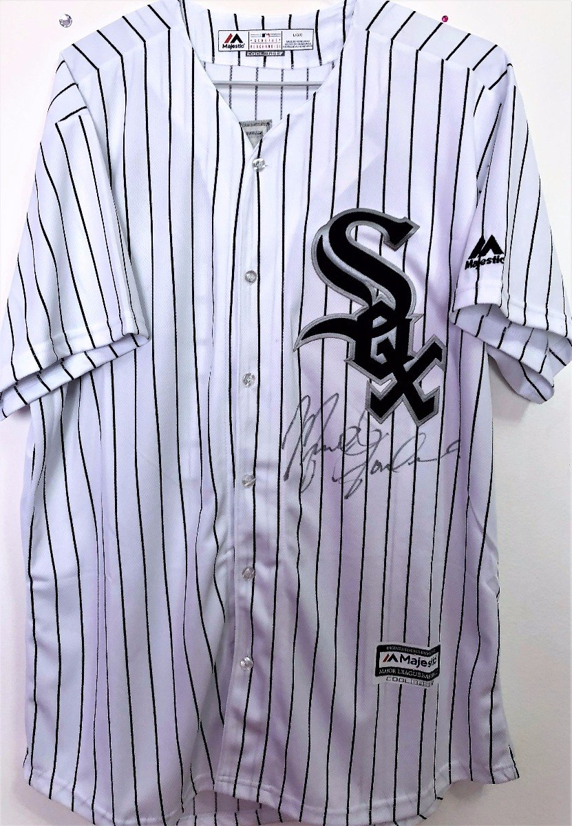 6e6a540e747fc camisa do chicago white sox autografada michael jordan. Carregando zoom.