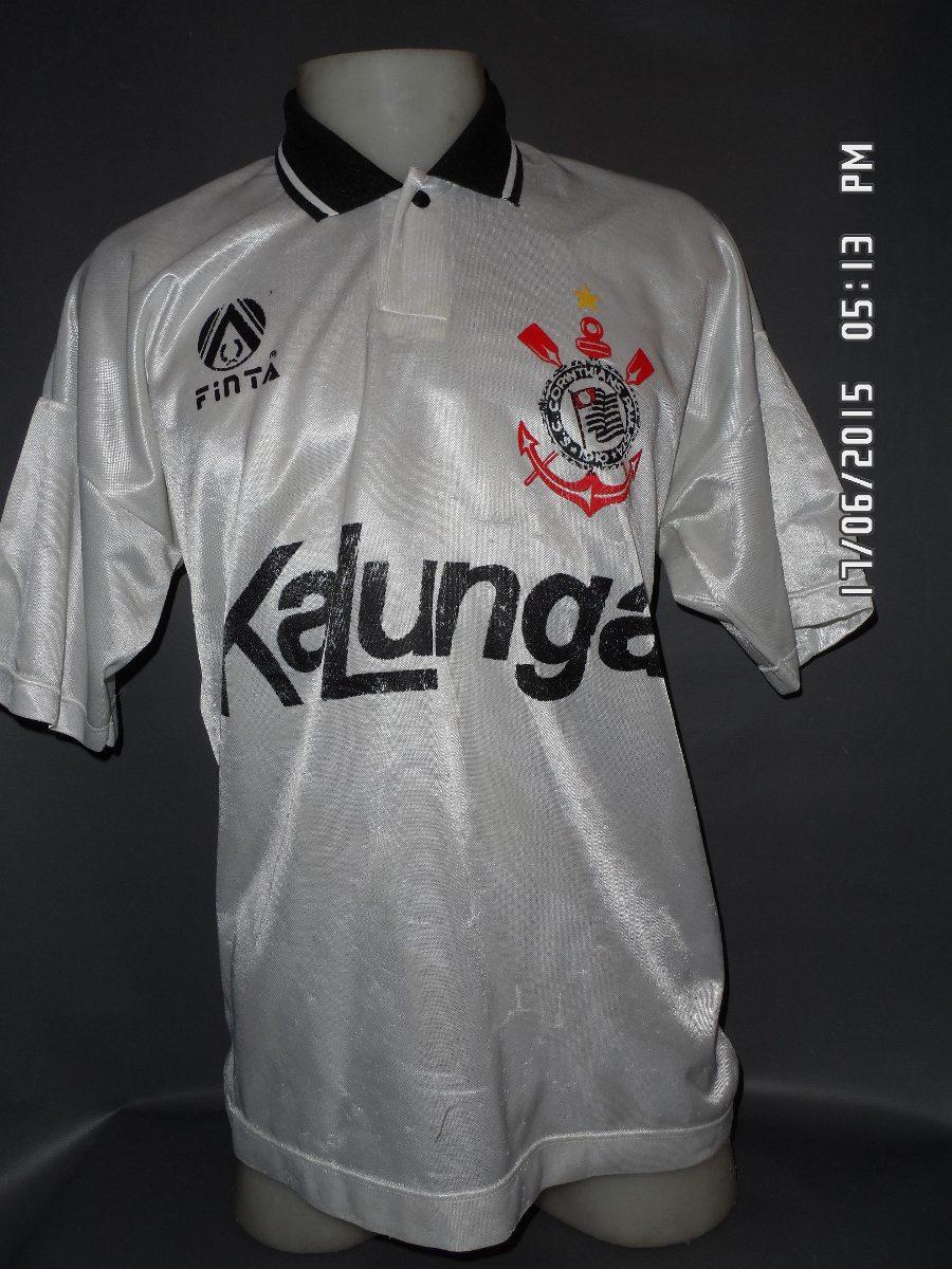 1d26046fca Camisa Do Corinthians 1992 93 N 1 - R  90