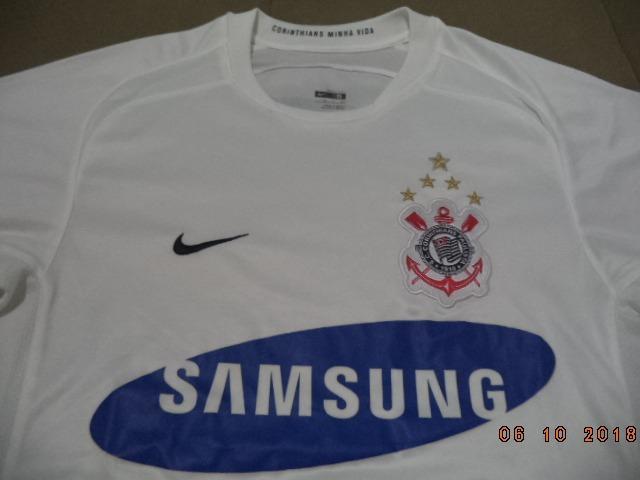 Camisa Do Corinthians 2006 Oficial Nike Samsung - Tamanho P - R  249 ... 7a8206d80faf2