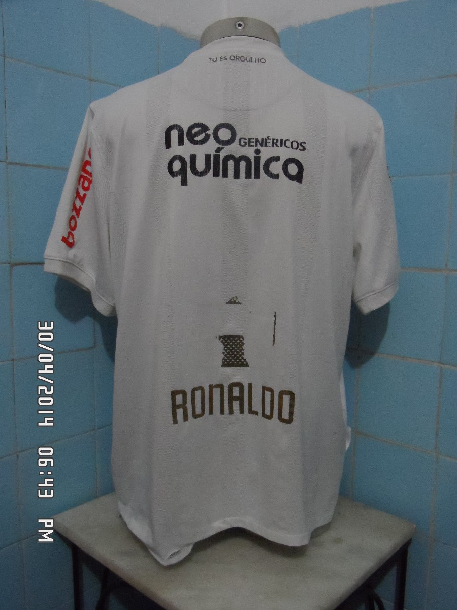 7c76c94c6d camisa do corinthians 2010 branca centenário. Carregando zoom.