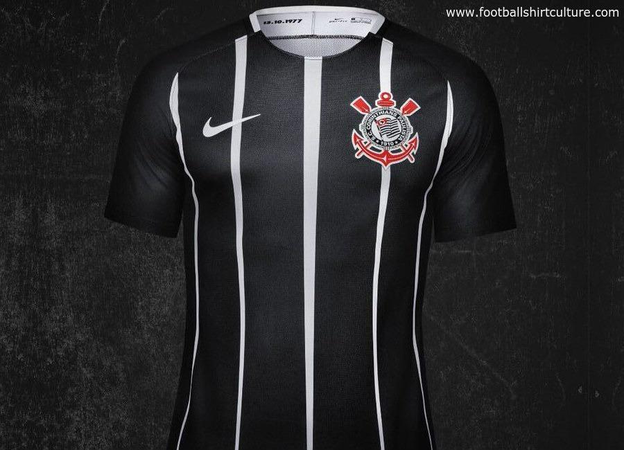 852b39c719 Camisa Do Corinthians 2017 - Modelo Jogador - R$ 199,00 em Mercado Livre