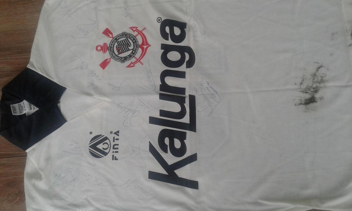 camisa do corinthians autografada time 1988 1989 com neto. Carregando zoom. 6418f0b5e9730