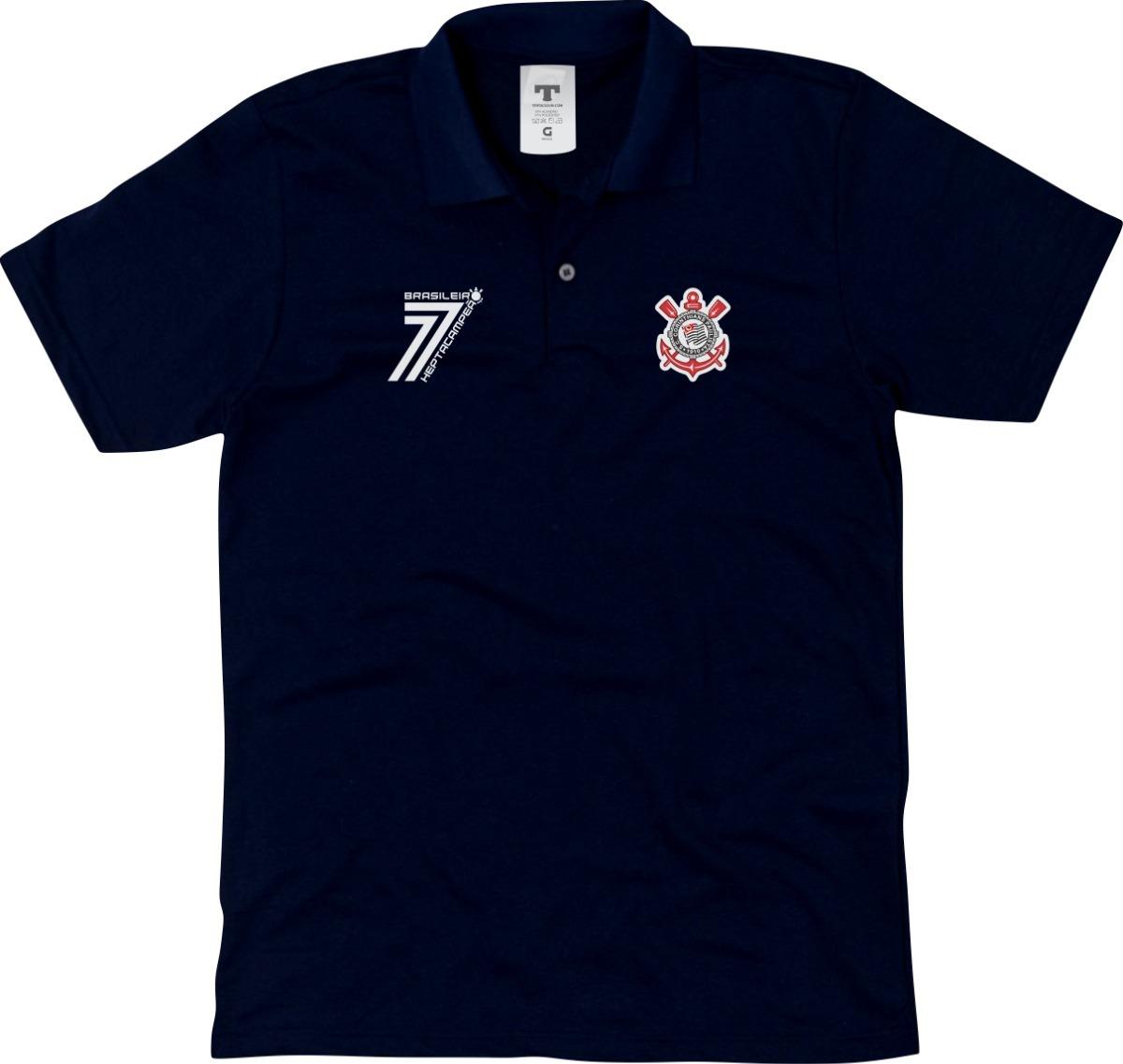 fea54dcf811ef camisa do corinthians camiseta polo timão blusa polo timão. Carregando zoom.