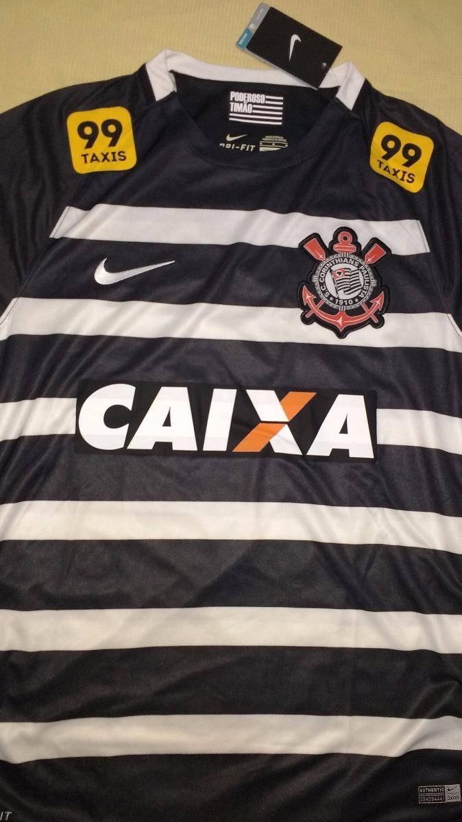 5ae82be6c1 camisa do corinthians campeão brasileiro 2015 original nike. Carregando zoom .