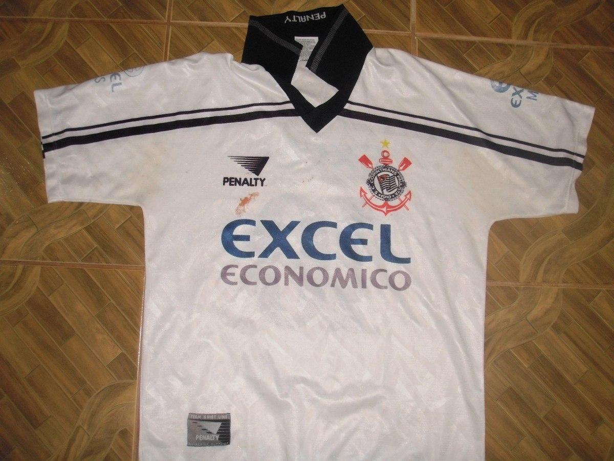da25a69350 camisa do corinthians excel economico 1998. Carregando zoom.