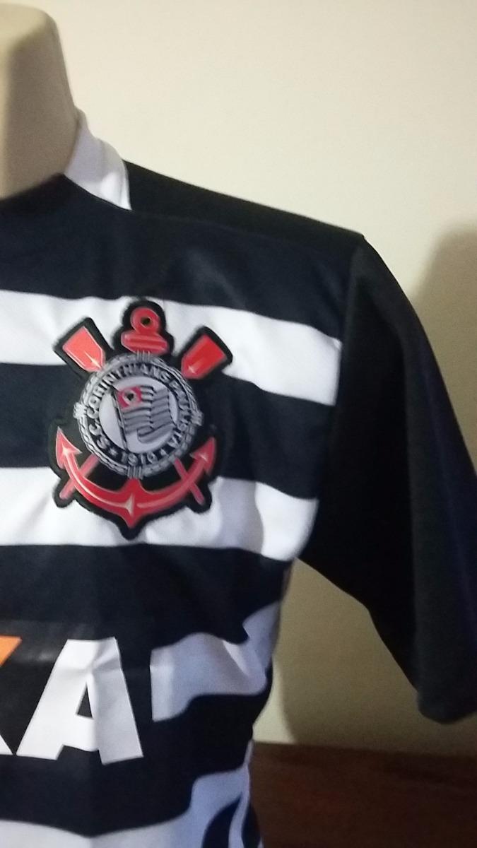 85e26e907d camisa do corinthians listrada modelo novo. Carregando zoom.