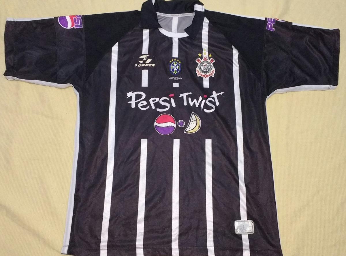 Camisa Do Corinthians Nike Campeão Copa Do Brasil 2002 - 67 - R  289 ... 5abadf9342ade