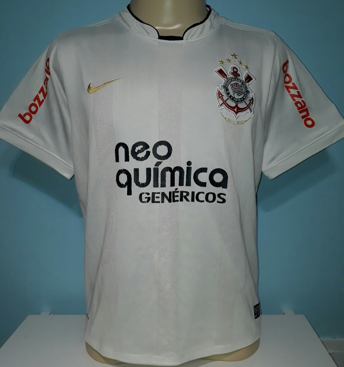 camisa do corinthians nike do centenário ronaldo 9 - a8. Carregando zoom. 53b1be98c79d5