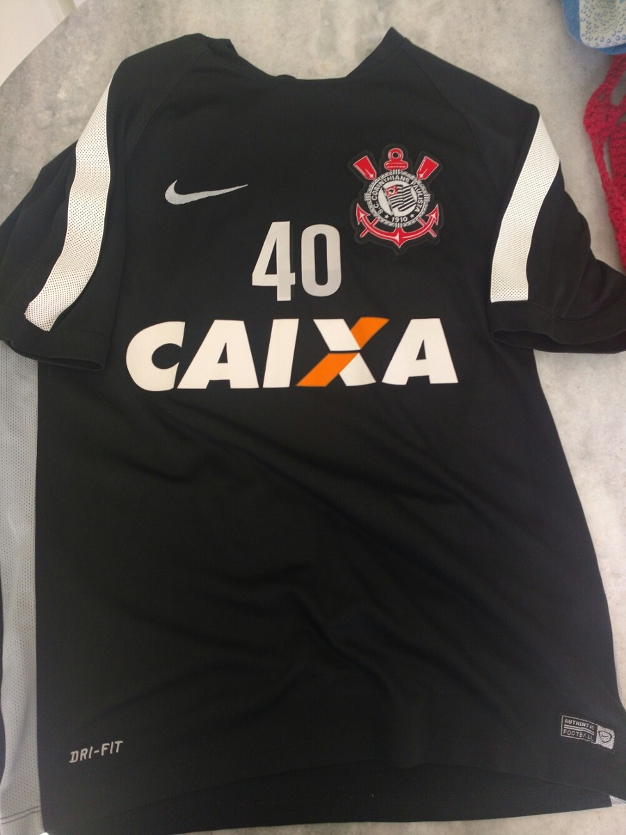 Camisa Do Corinthians Nike Exclusiva Treino Jogador Jogo - R  230 86071937f91ef