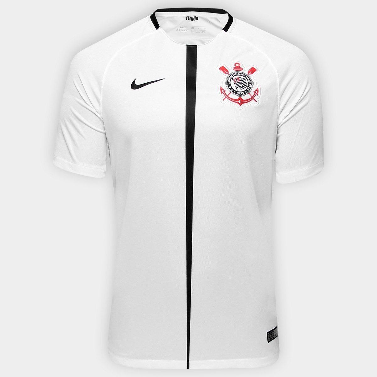 bf0b183de0277 Camisa Do Corinthians Nike Torcedor Masculina S n° 2018 - R  160