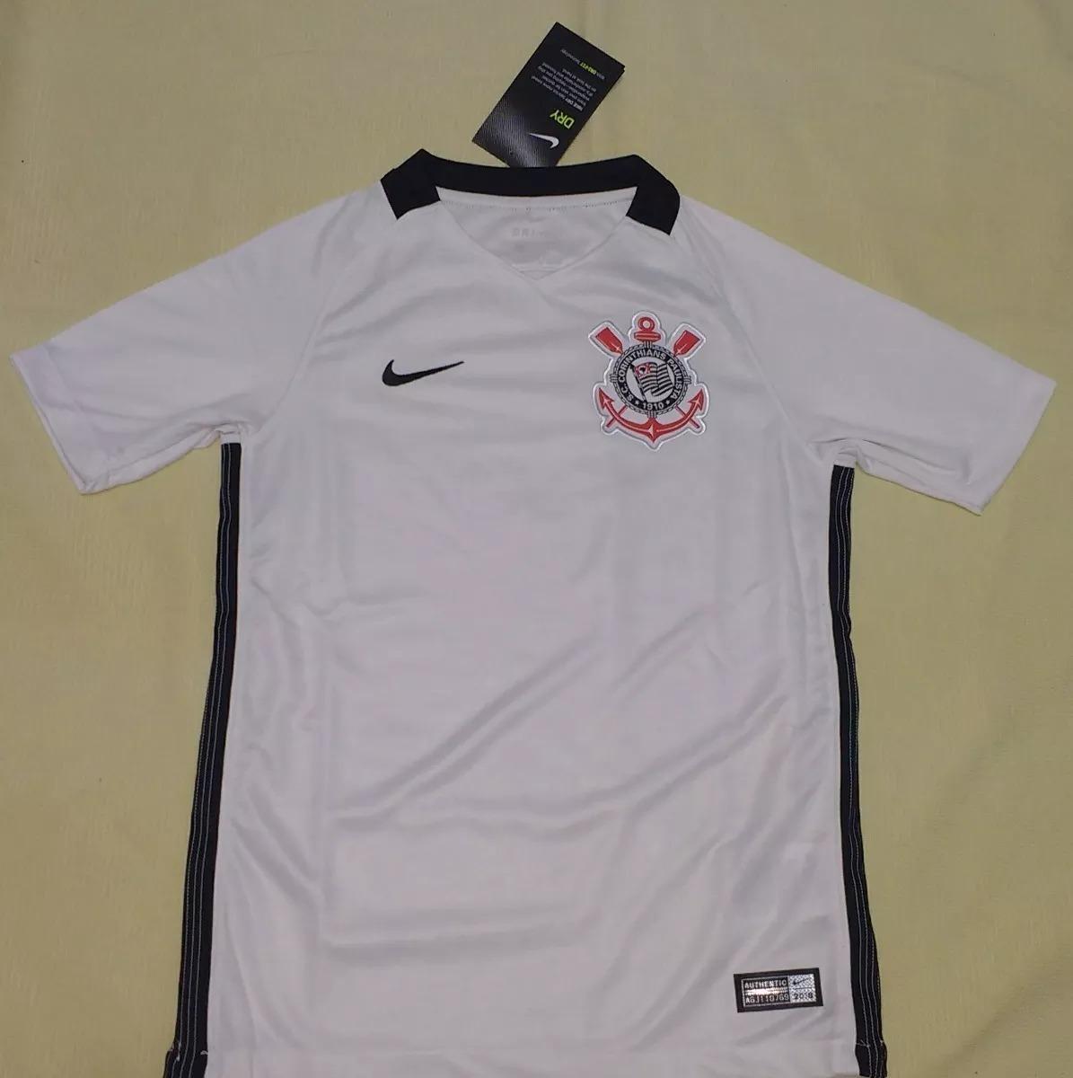 Camisa do Corinthians I 2018 Nike - Feminina 1ee0d0993aa4f2  camisa do  corinthians original 100% nike feminina - 78. Carregando zoom.  a6ee936b2c9aa0 ... dde8607b8bad1