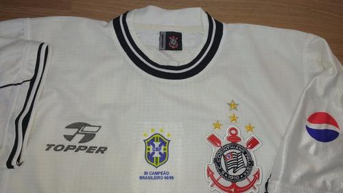 camisa do corinthians ricardinho antiga topper original - 17
