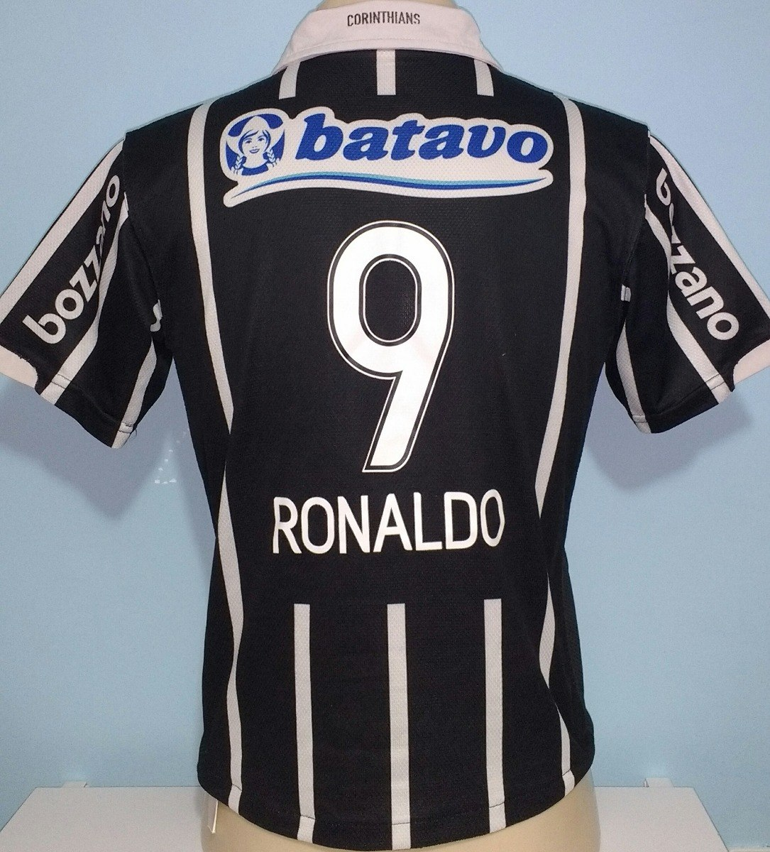 uk availability 07470 6ea40 Camisa Do Corinthians Ronaldo Fenômeno 2009 Nike - 16