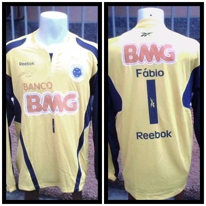Camisa Do Cruzeiro    Goleiro Fabio - R  450 3de3c7f41e477