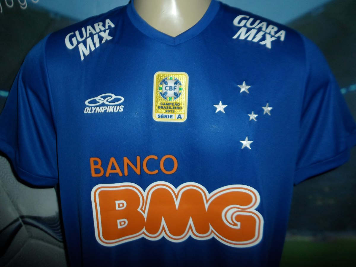 9d99b022e95af Camisa Do Cruzeiro Marcelo Moreno !!!!!! - R  300