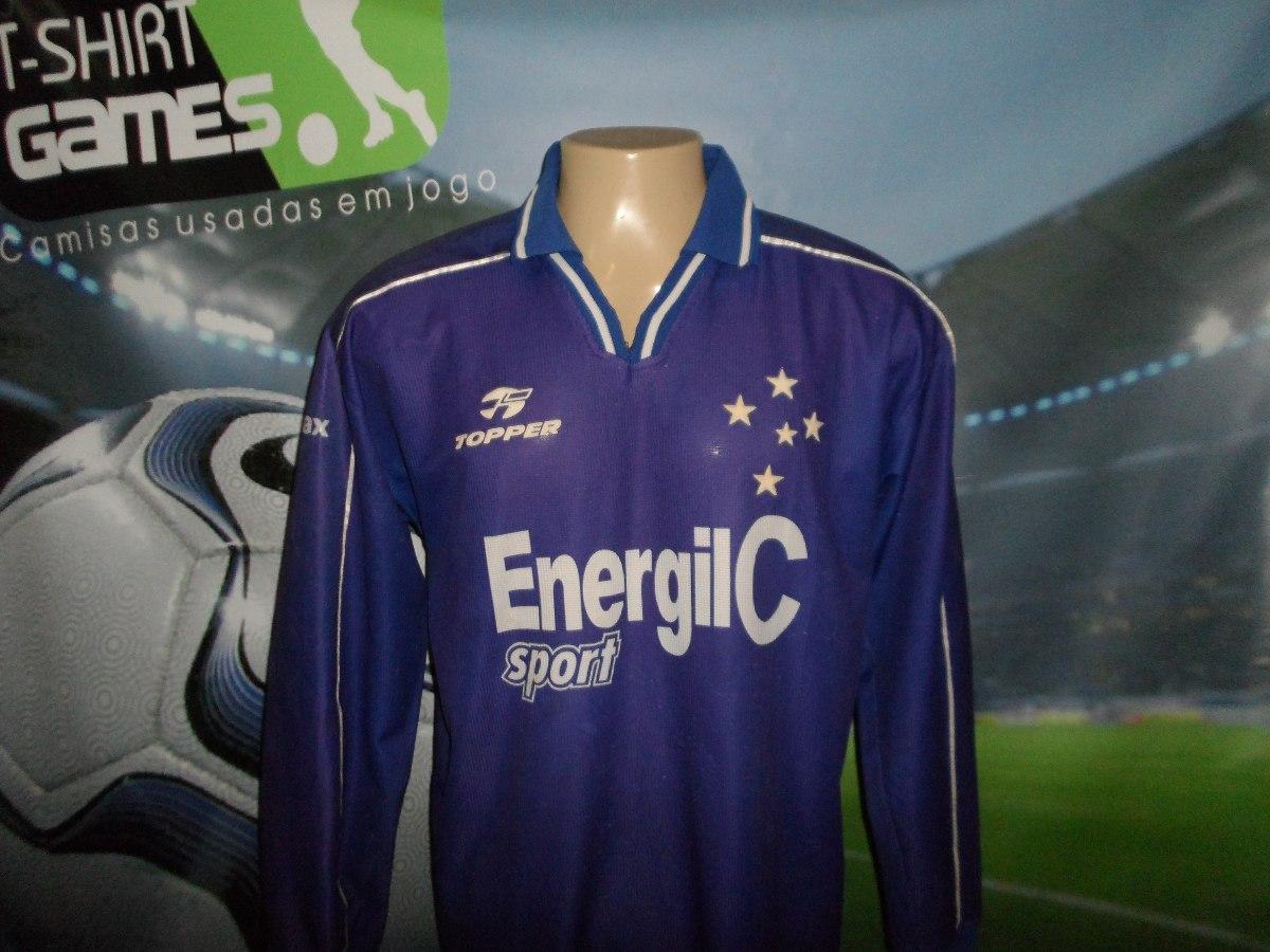 camisa do cruzeiro usada nas finais do brasileiro 1998. Carregando zoom. 70c7b01273fea