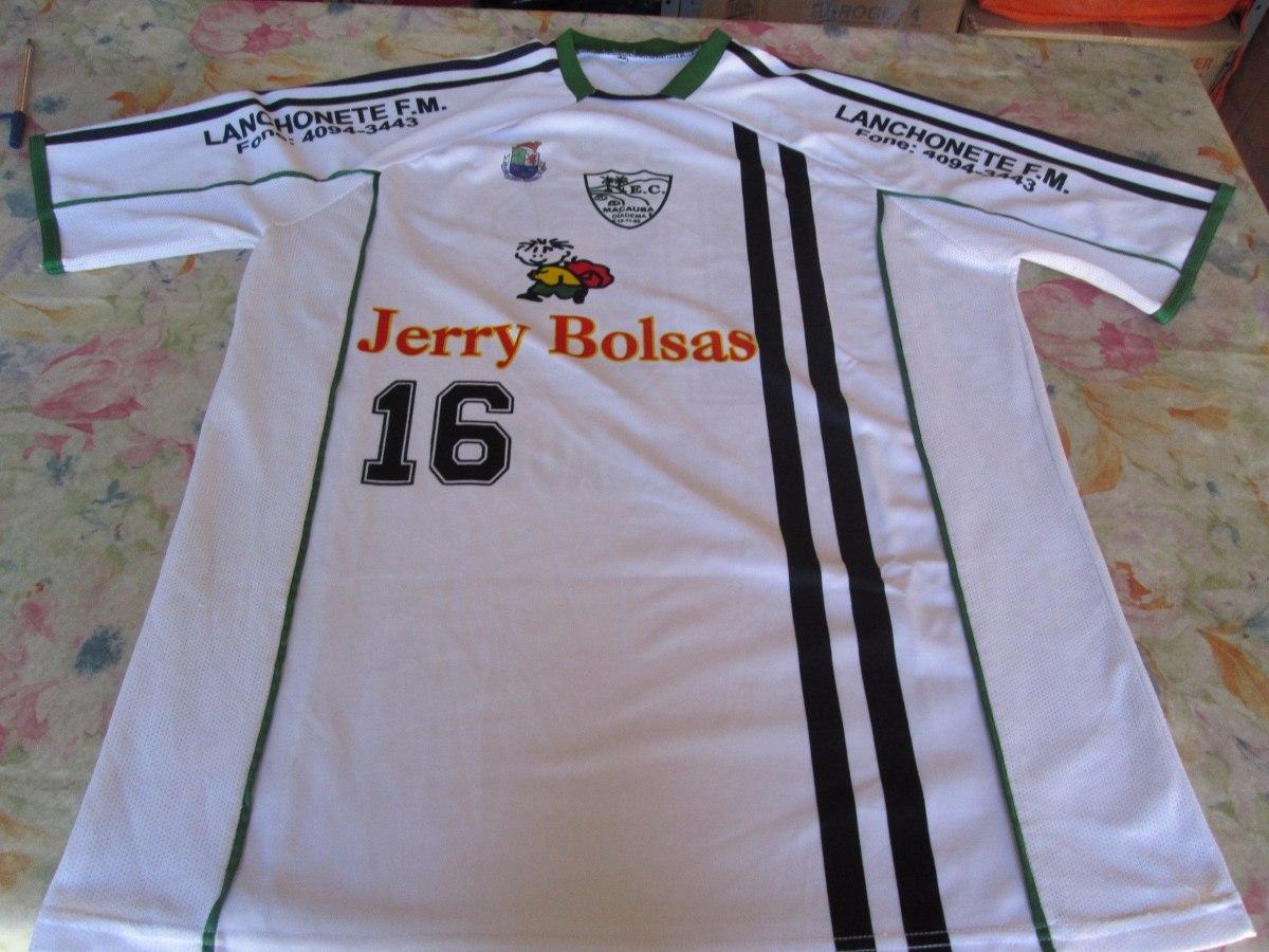 c075c22979 Camisa Do Esporte Clube Macauba Time De Diadema-sp - R  20