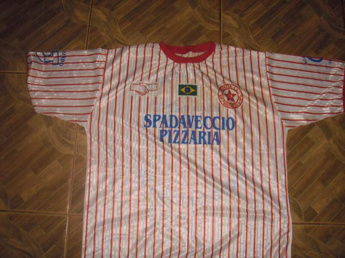 Camisa Do Estrela Futebol Clube Do Rio Pequeno - R  25 fd0389611004b