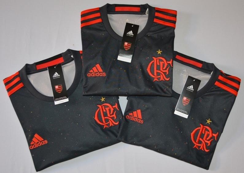 94cd0ccf52cc9 Camisa Do Flamengo adidas Edição Especial Original - R  125