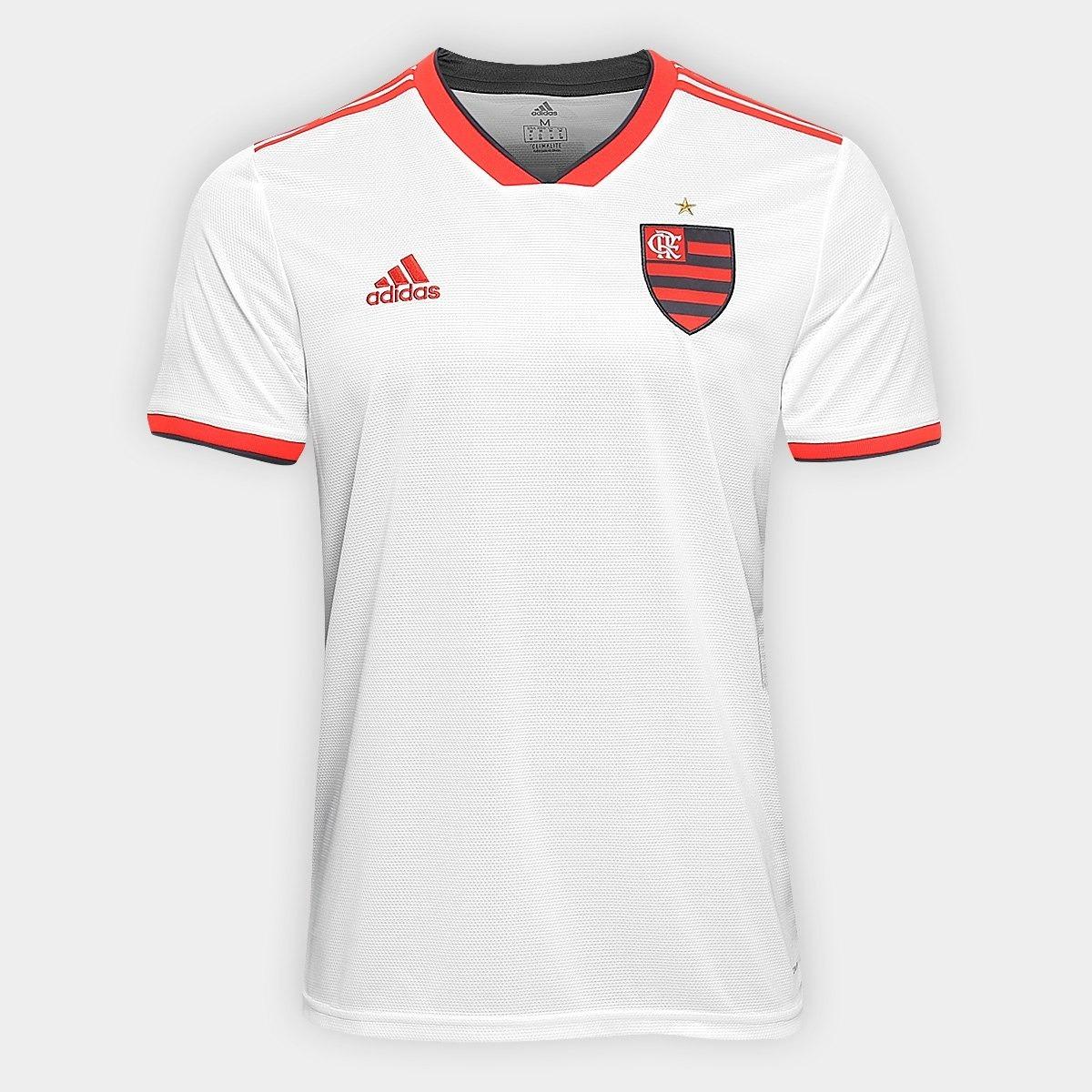 Camisa Do Flamengo Branca 18 19 - Frete Grátis - R  189 eb185aadf9ebf