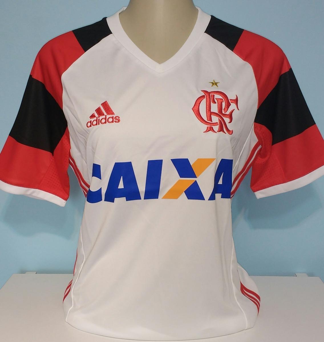 d557007362a17 Camisa Do Flamengo Feminina 100% Original adidas - 27 - R  129