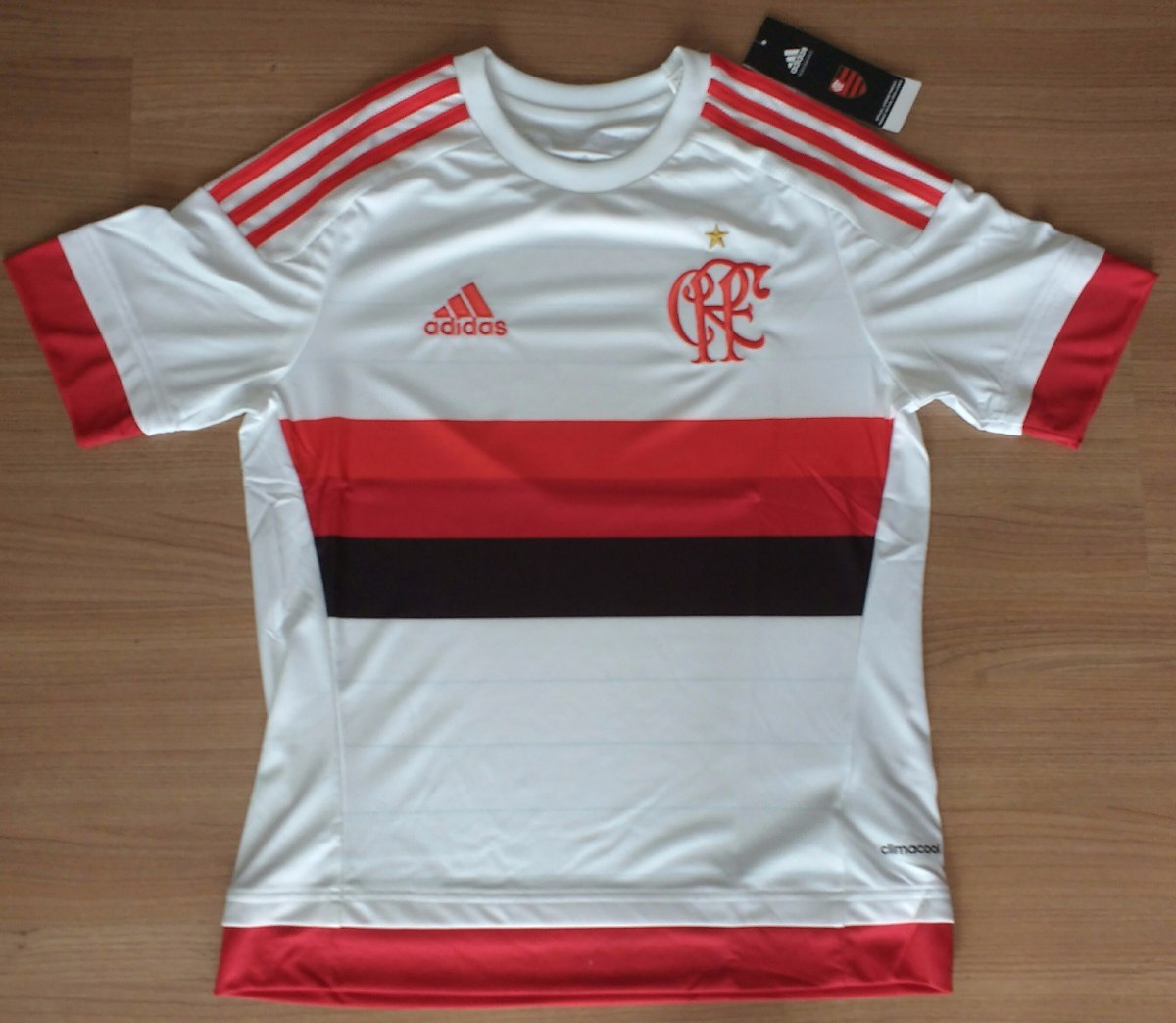 eaffb7bf1cafa Camisa Do Flamengo Feminina Original adidas Climacool - R  89