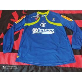 Camisa Do Flamengo Goleiro Manga Longa