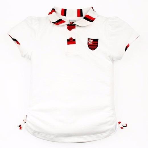a661b35dc9bf0 Camisa Do Flamengo Infantil Polo Oficial Menina