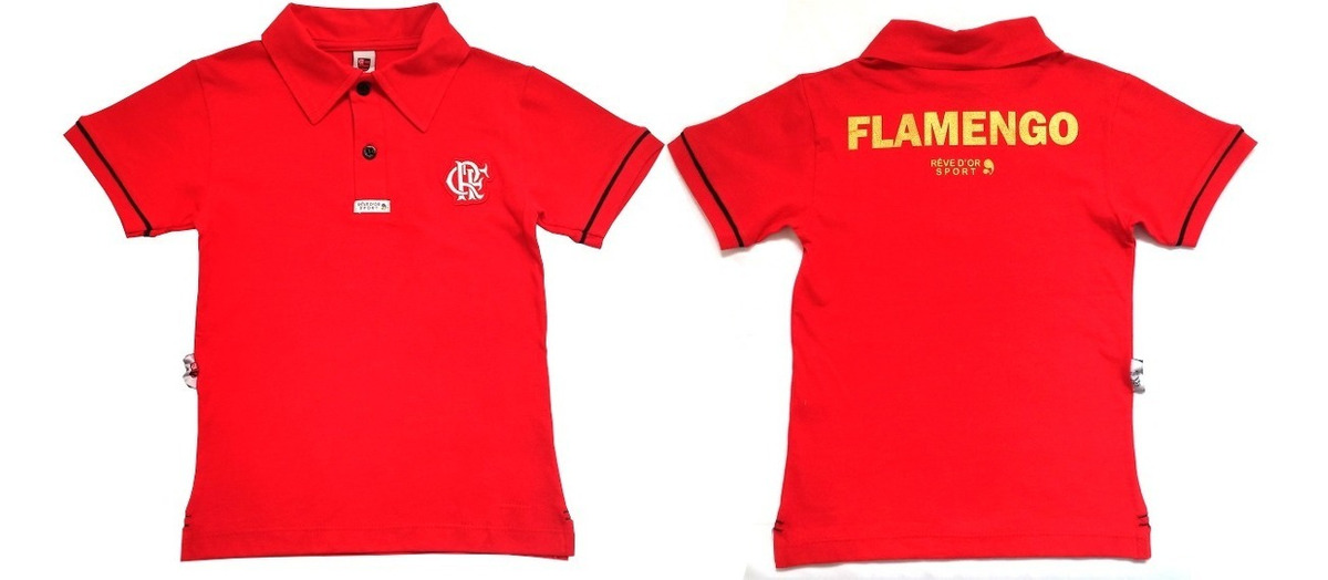 ebe78809f4 camisa do flamengo infantil polo oficial menino. Carregando zoom.