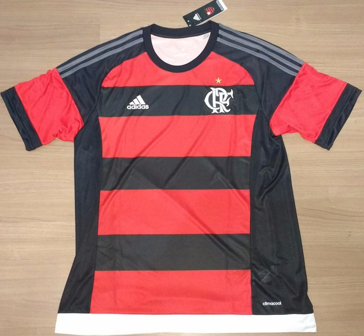 camisa do flamengo original 100% adidas de 2015 - 15. Carregando zoom. 9671dac17497c