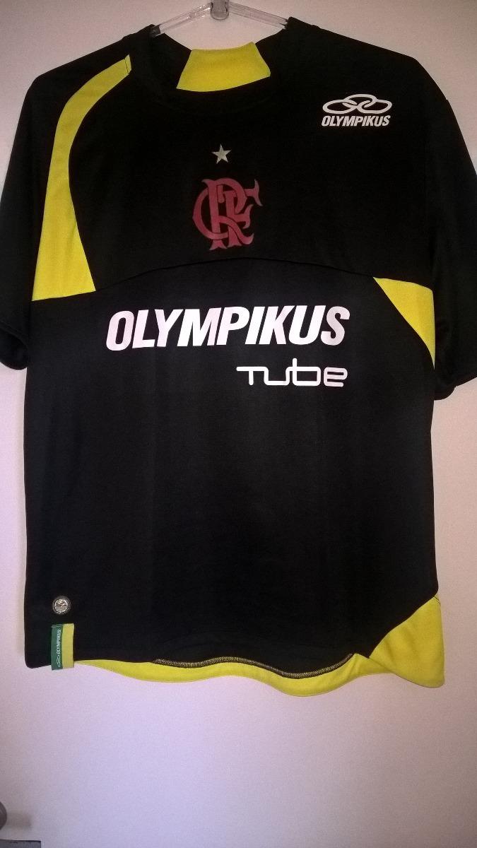 camisa do flamengo preta treino olympikus tube 2009 zerada. Carregando zoom. 9bc60c895e3ec