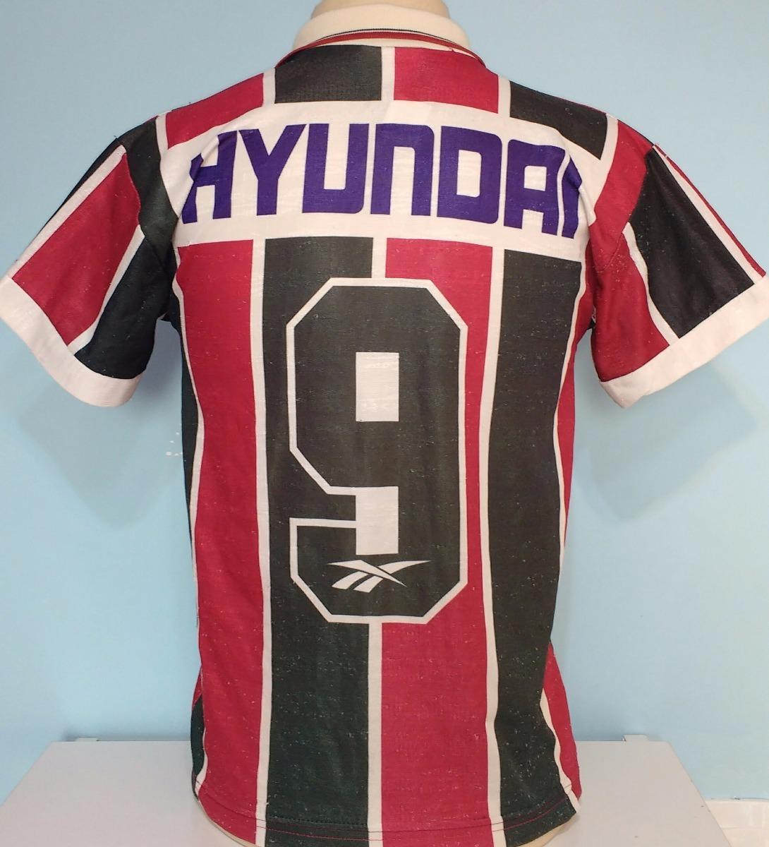 camisa do fluminense antiga reebok campeão carioca 1995 - 95. Carregando  zoom. 4f48e7158f238