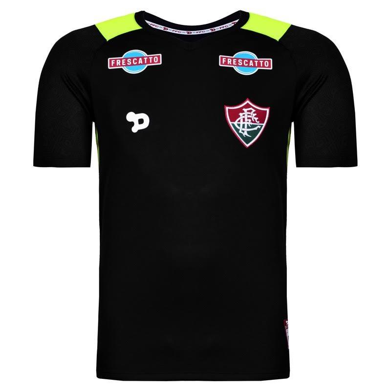 camisa do fluminense de goleiro 2016 de jogo prt ver. Carregando zoom. 272c60c6bdb75
