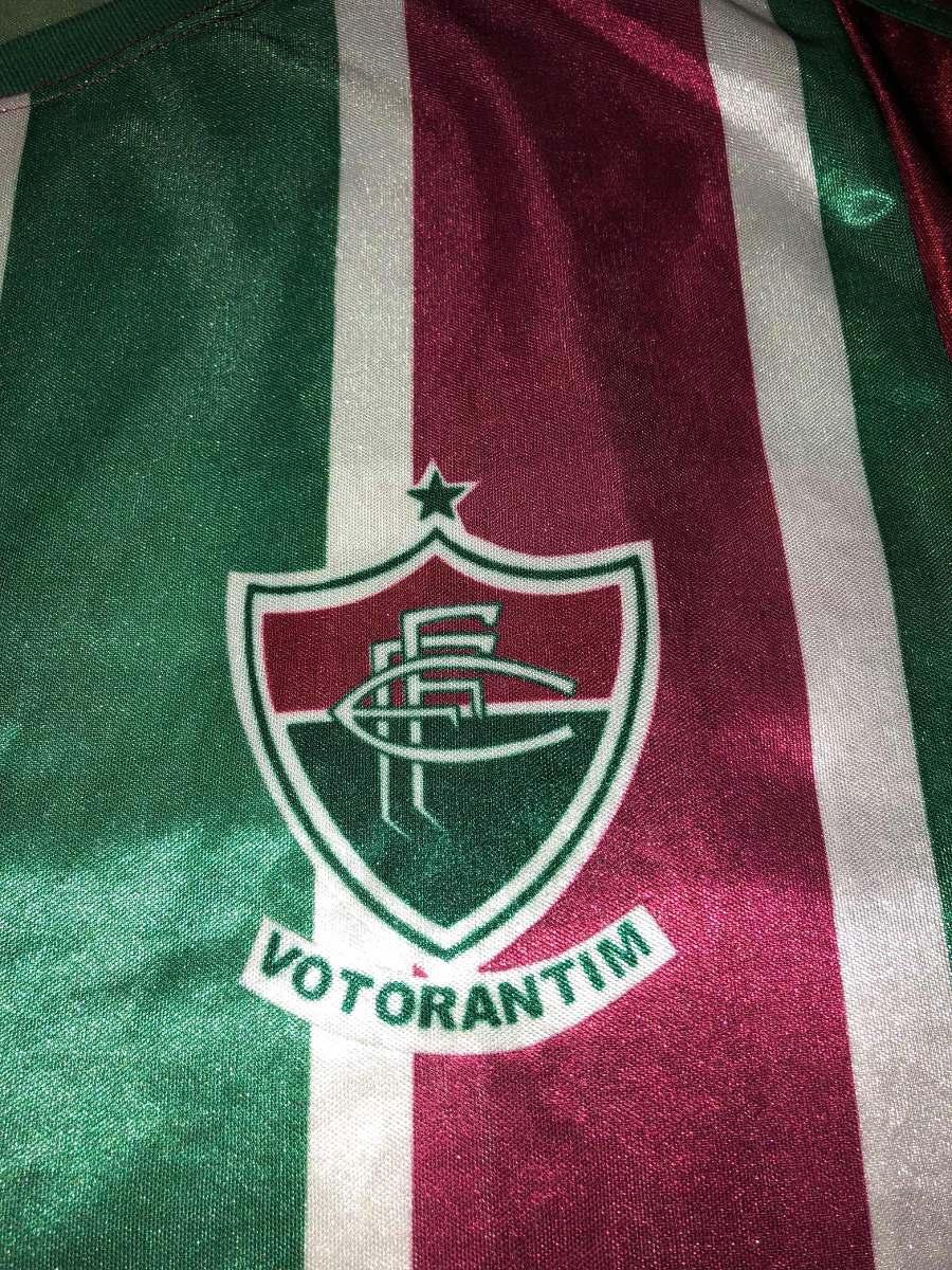 5a8b61a084 Camisa Do Fluminense De Votorantin 10 De Jogo - R  59