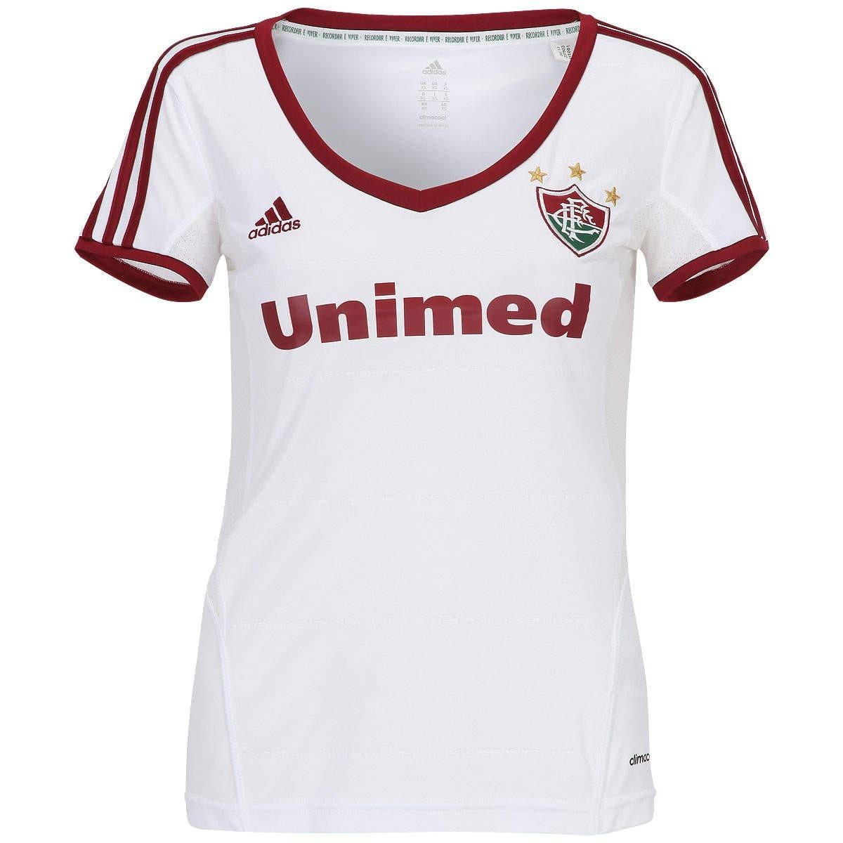 682e872aaf camisa do fluminense feminina branca oficial adidas blusinha. Carregando  zoom.