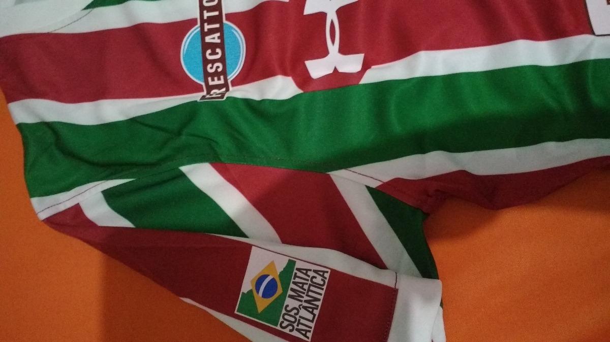 camisa do fluminense tricolor under armour promoção original. Carregando  zoom. 119932e57fcd8
