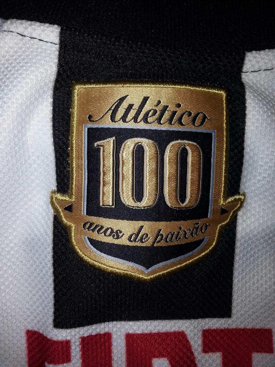 camisa do galo 2008 centenário - oficial lotto - atlético mg. Carregando  zoom. 421c8ad4e6a6e
