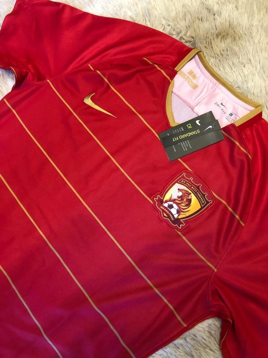 ab62096a3 camisa do guangzhou evergrande 18 19 oficial - super barato. Carregando  zoom.