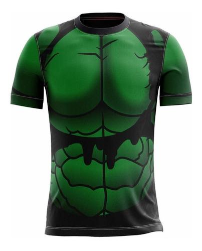 camisa do hulk masculina roupas herois camiseta blusa