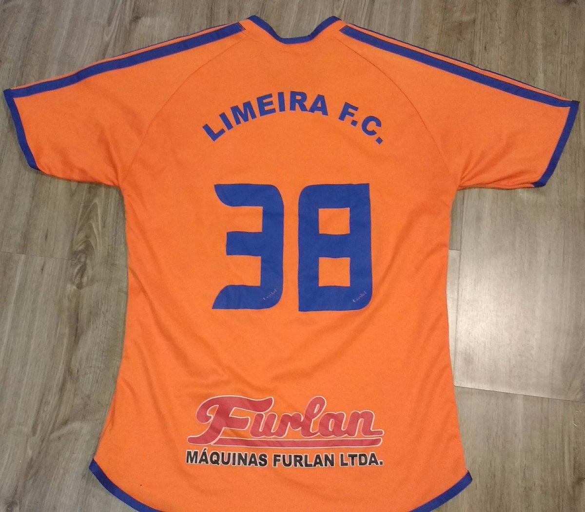 Camisa Do Limeira Futebol Clube Lfc - R  79 b0df7ab2e39e6