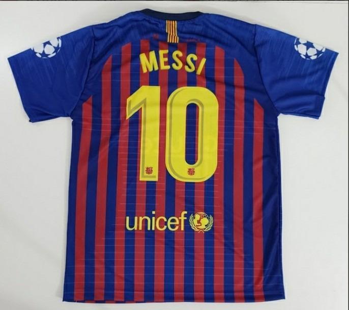 Camisa Do Messi Barcelona Time Futebol Camiseta - R  54 7cdda24a5247f