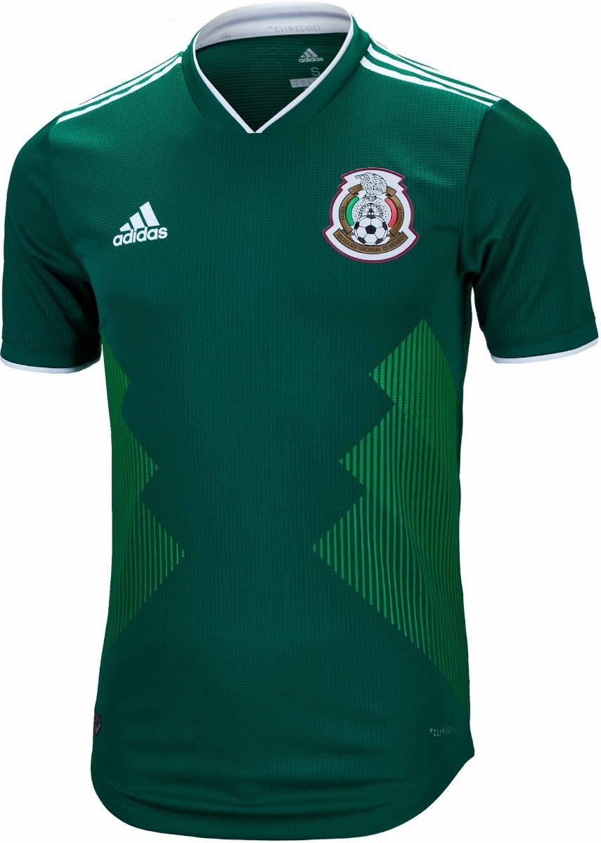 22365ddcb9 camisa do méxico adidas original - verde masculina 2018. Carregando zoom.