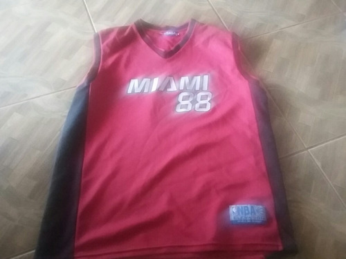 camisa do miami heat nba