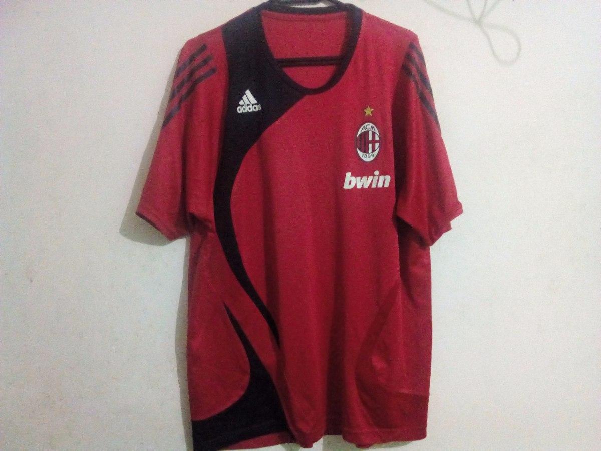 camisa do milan de treino vermelha bwin original adidas. Carregando zoom. 68def71ef4205